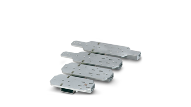 DIN rail adapter