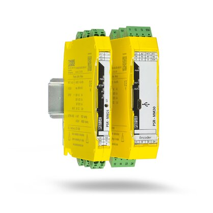 Over-speed safety relays and zero-speed safety relays