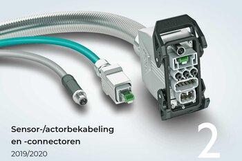 Sensor-/actorbekabeling en -connectoren