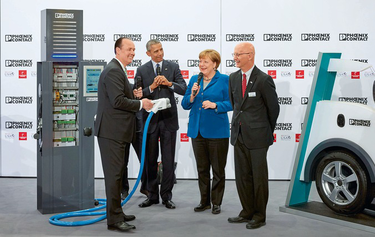 Hannover Messe Obama visit: Into the future with the Chancellor and President
