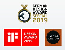 German Design Award 2019, iF Design Award 2019 oraz Good Design Award 2019