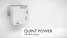 QUINT POWER power supply with 40 A