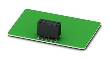 带引出式接點的板對板連接器