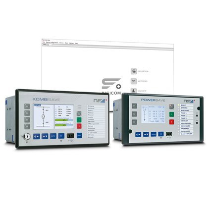 Protective relays for mains protection