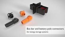 Conectores para sistemas de acumulação de energia