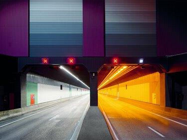 隧道 LED 照明解決方案