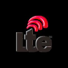 LTE-Logo für das 4G-Mobilfunknetz