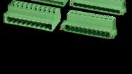 Pas de 5,0/5,08mm (connecteurs inversés)