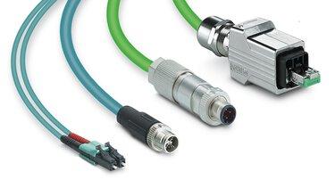 Connecteurs et câbles pour signaux, données et puissance