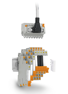 PLC-INTERFACE with system cabling adapters
