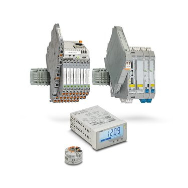 Signal conditioners, process indicators, and field devices