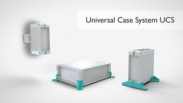 UCS series modular electronics housings for embedded systems