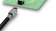 Double-row PCB connectors – shielded for reliable data transmission
