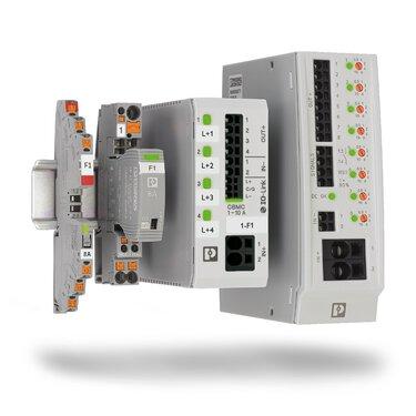 Electronic circuit breakers