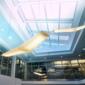 Leiterplattenanschlüsse und Elektronikgehäuse für Beleuchtungssysteme in Gebäuden