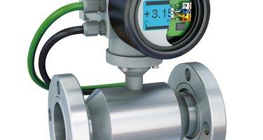 Débitmètre magnéto-inductif avec technologie de raccordement pour C.I.