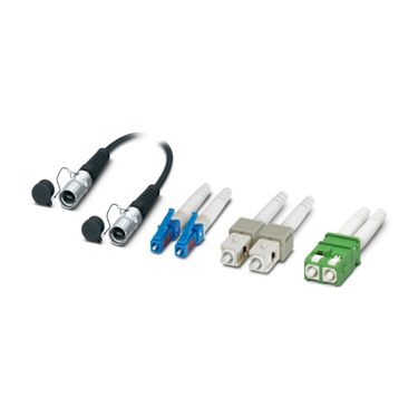 FO-based data connectors
