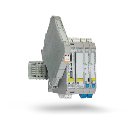 기능적 세이프티 및 폭발 방지 기능이 있는 시그널 컨디셔너