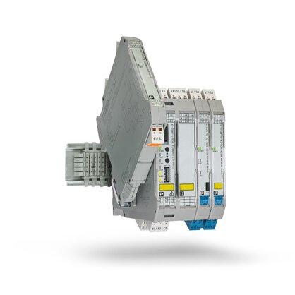Amplificateurs-séparateurs avec sécurité fonctionnelle et protection antidéflagrante