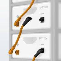 Connecteurs des bornes de batterie