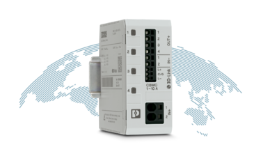 CBMC 4-channel device circuit breaker with IO-Link communication interface